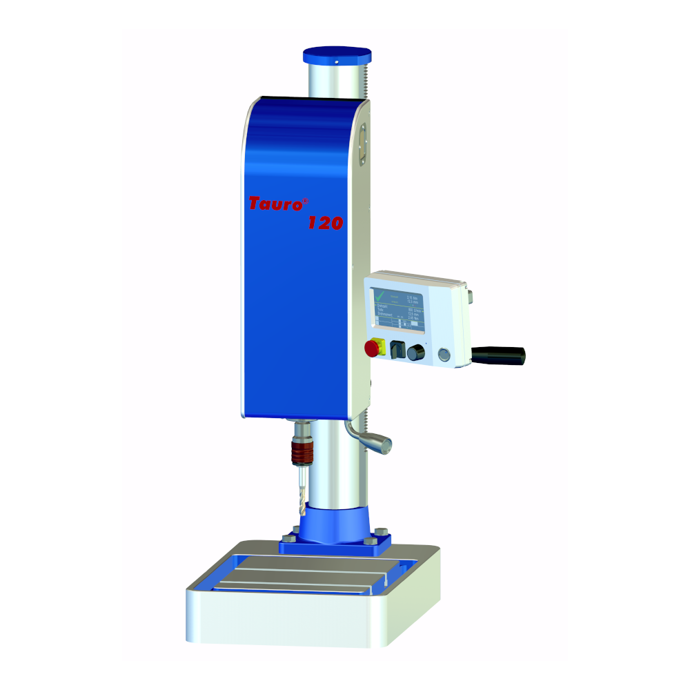 Tauro 120 thread tapping machine