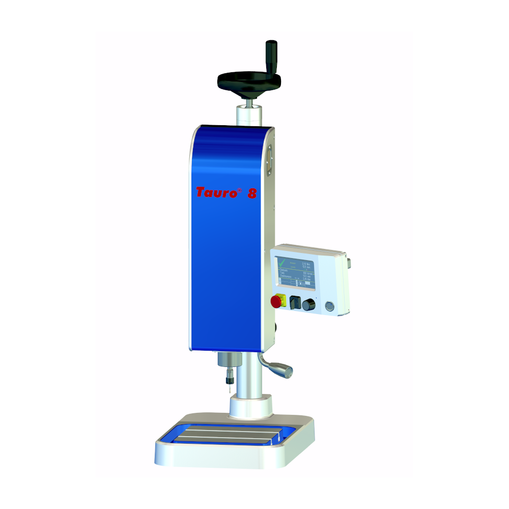 Tauro 8 thread tapping machine